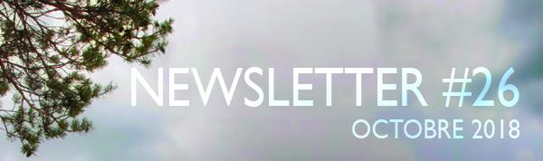 newsletter 26 octobre