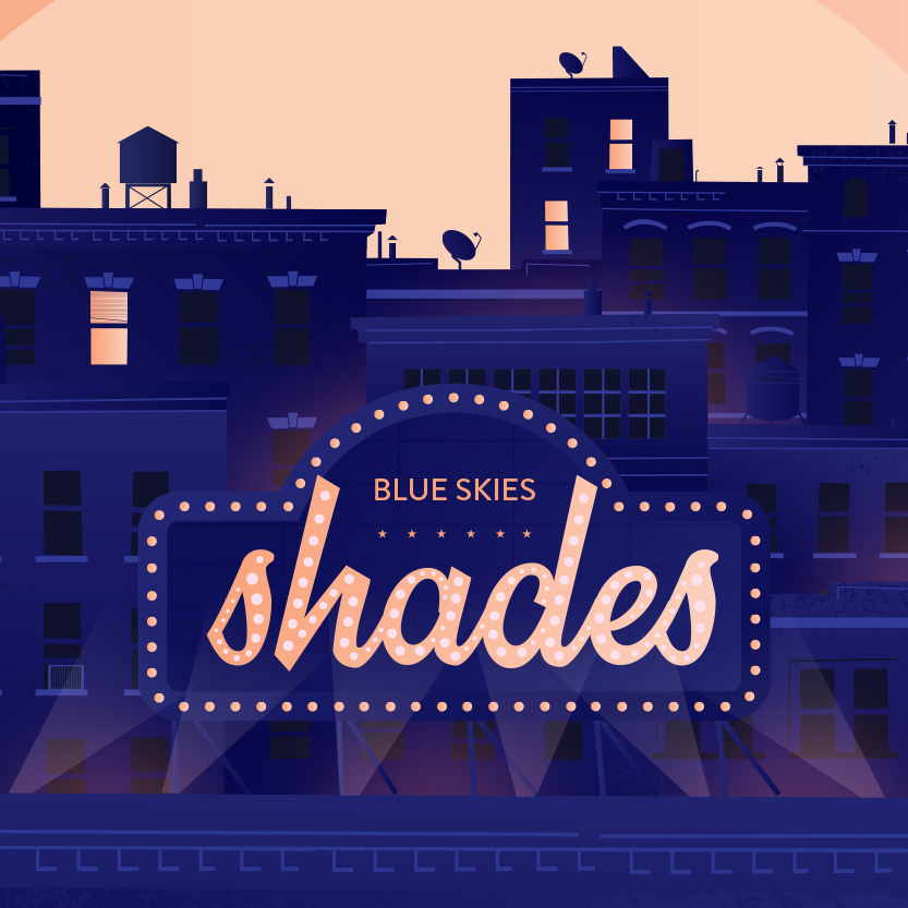 shades nouvel album blue skies